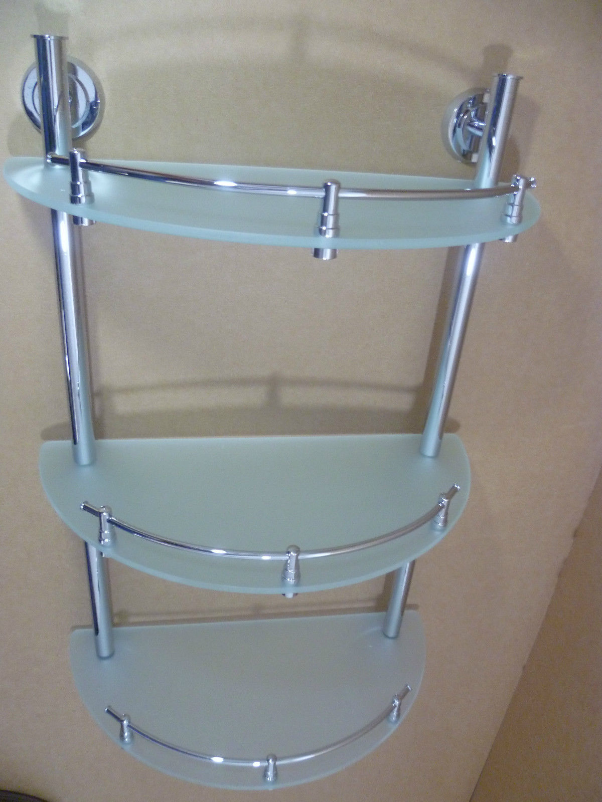 Shelving units for bathrooms - Instead Of Buying A Big Shelving Unit You Can Buy Several Glass Shelves For Bathroom Glass Shelves Have Stylish Design