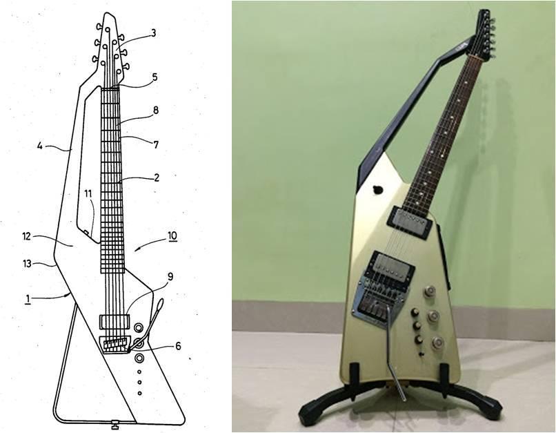 Passion for Electric Guitar Roland G707 Vintage Guitar