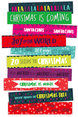 A printable Christmas countdown