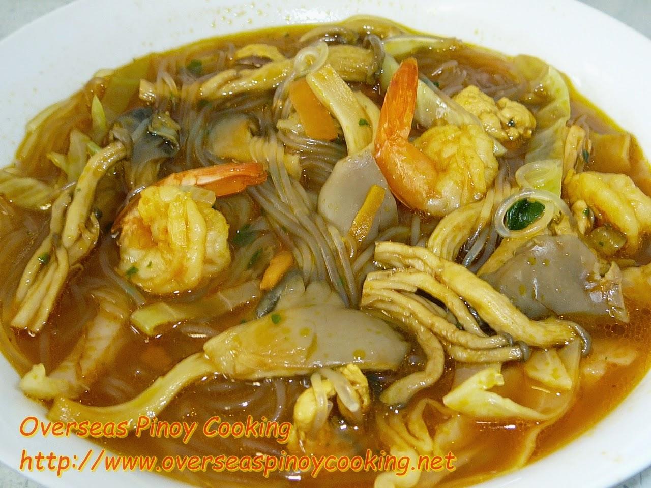 Sotanghon Noodle Soup Overload