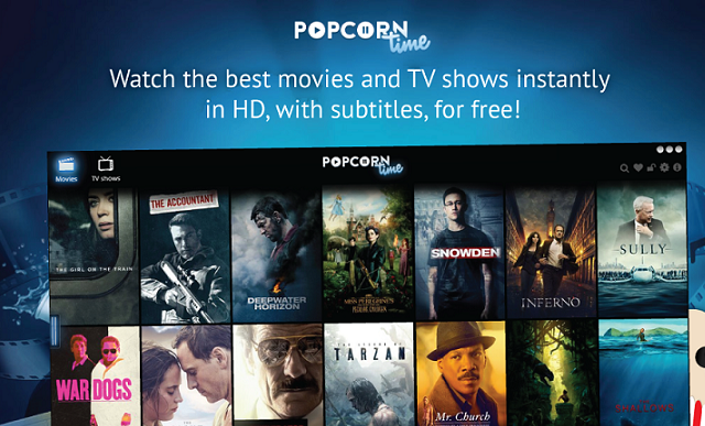 Popcorn Time! Download Semua Box Office Atau Movie Kualitas HD