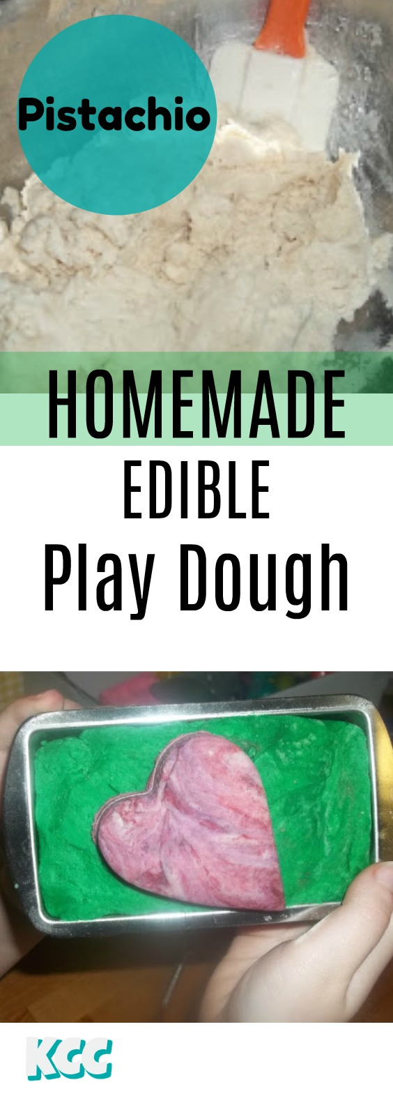 How to make homemade Play Dough Recipe Ideas (Edible) and Pistachio Experiment