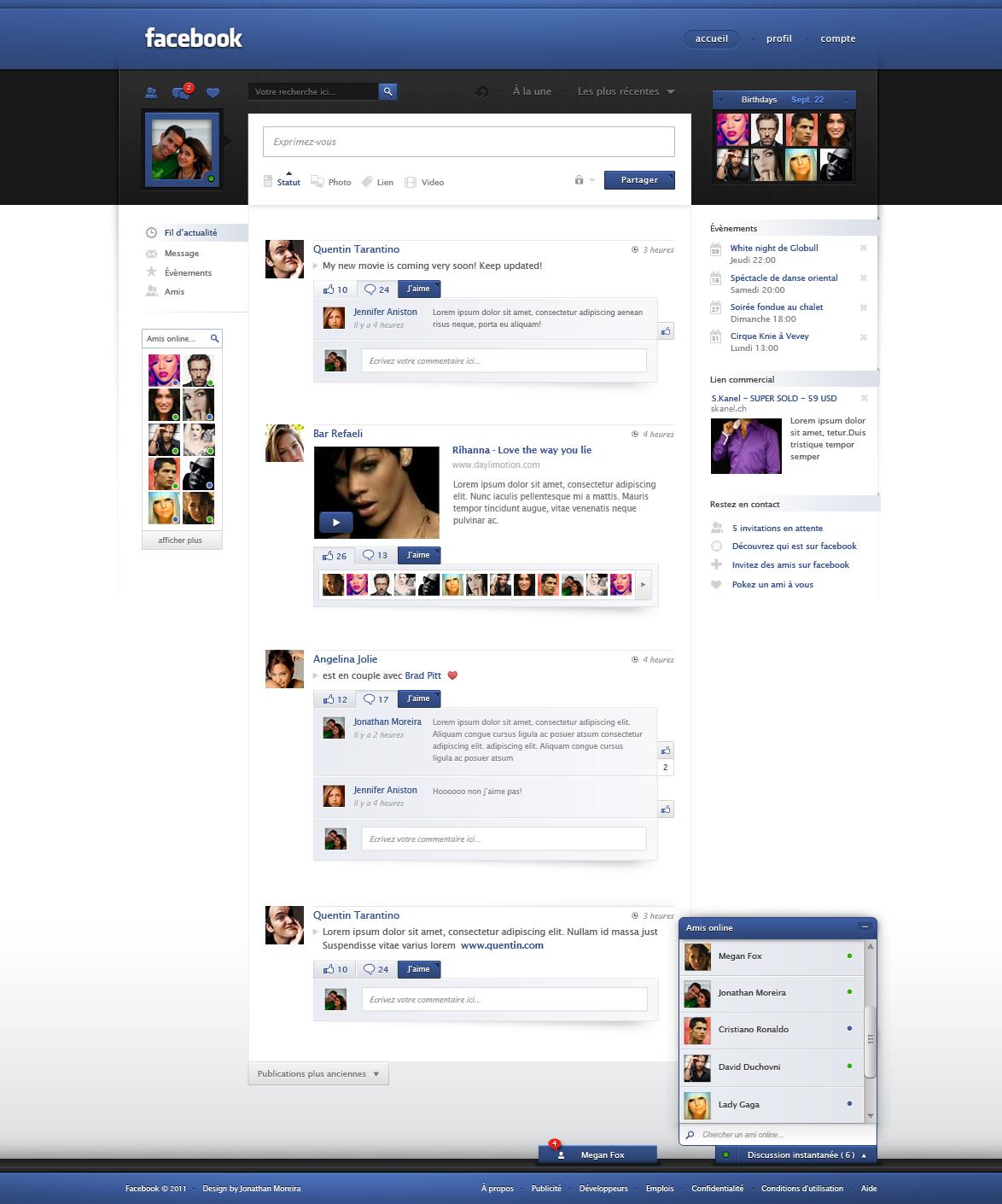 Redesain Facebook terbaik