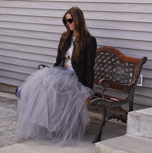 Fashion's Cinderella Moment and Tips for How to Style It: Shabby Apple Tulle Skirt