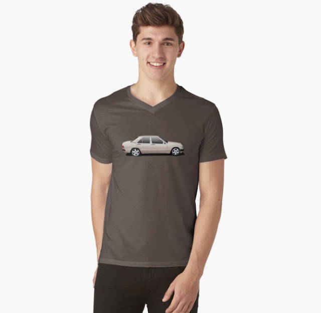 Mercedes-Benz W201 190E t-shirts bronze