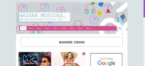 Templates Para Blogger Baixar Musicas