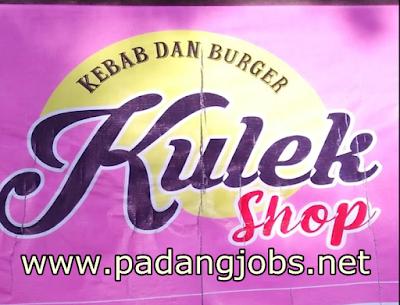 Lowongan Kerja Padang: Kulek Shop (Kebab & Burger) Mei 2018