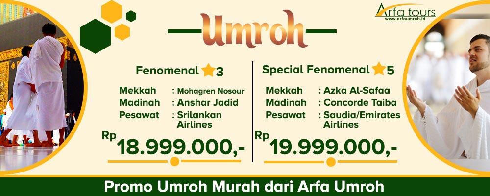 Promo Murah Arfa 2019