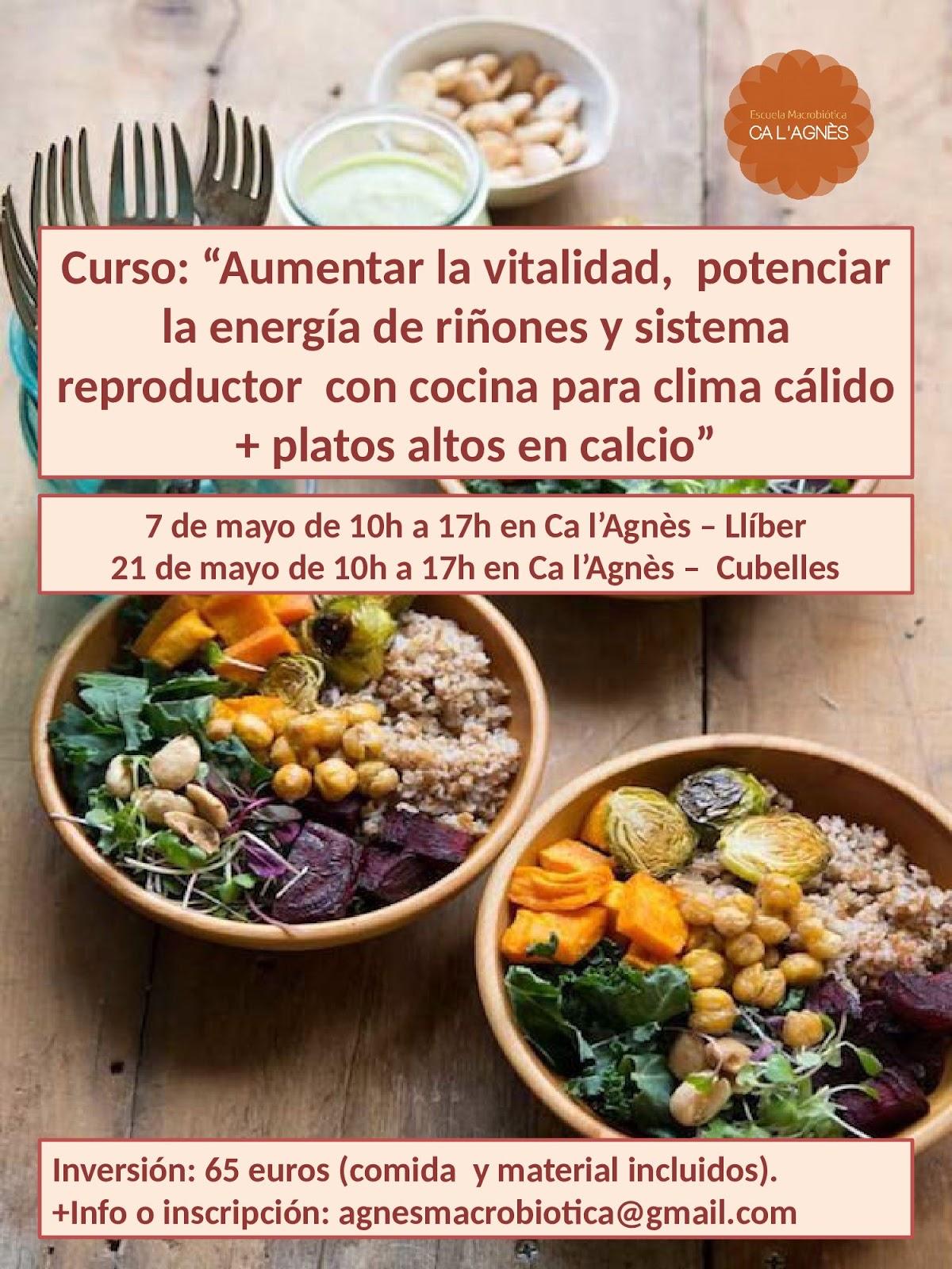 Nutrici n para la salud curso macrobi tica en ll ber for Cursos de cocina en alicante
