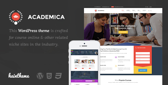 Education Center WordPress Theme