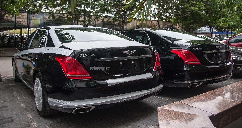 genesis g90 Video Hyundai Genesis G90 động cơ 5.0 lít màu Đen Den lai sau Hyundai Genesis G90 2B 25282 2529