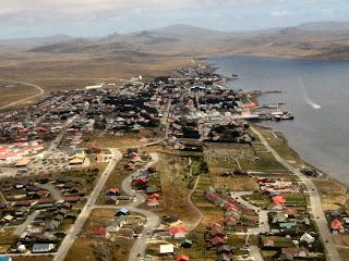 De viajeros por las Islas Malvinas o Falkland Islands 16