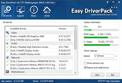 Free License Easy DriverPacks for Windows v6