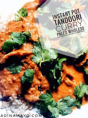 Instant Pot Tandoori Curry Chicken