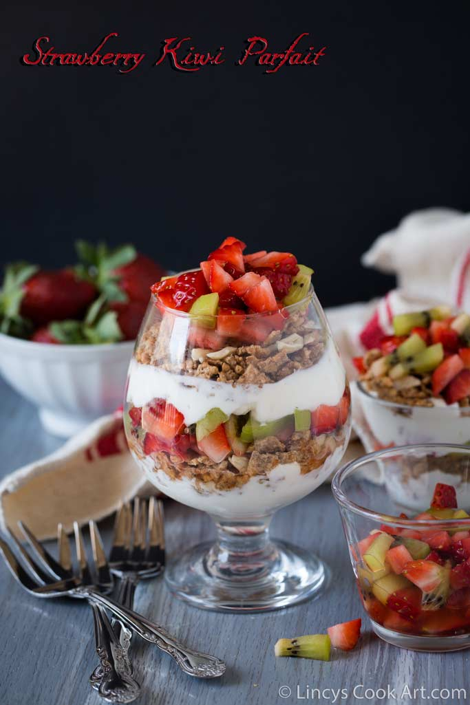 Strawberry Kiwi Parfait recipe