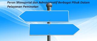 Peran Manajerial dan Administratif