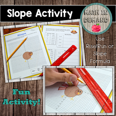 Slope Thanksgiving Activity