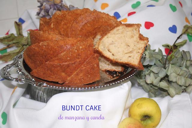 Bundt cake de manzana y canela