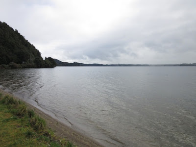 Lago Okataina, Nueva Zelanda