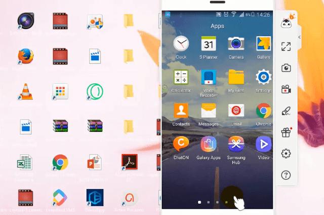 مشاركة وعرض شاشة هاتف الأندرويد والآيفون على الكمبيوتر مع أفضل وأسرع تطبيق