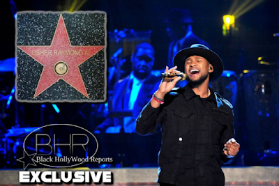 Climax Singer Usher Will Be Honored With A Hollywood Walk Of Fame Star !!!
