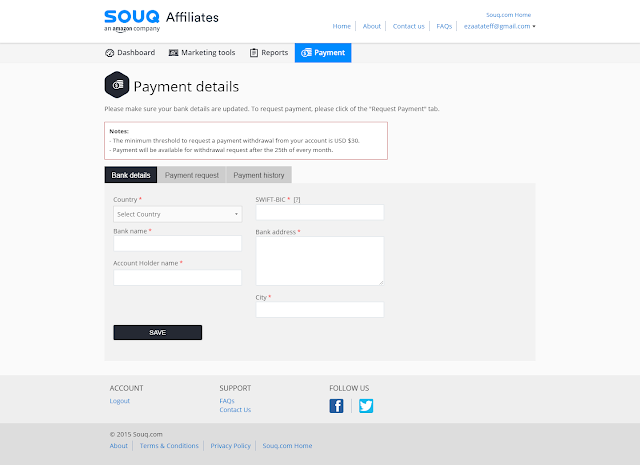 affiliate souq