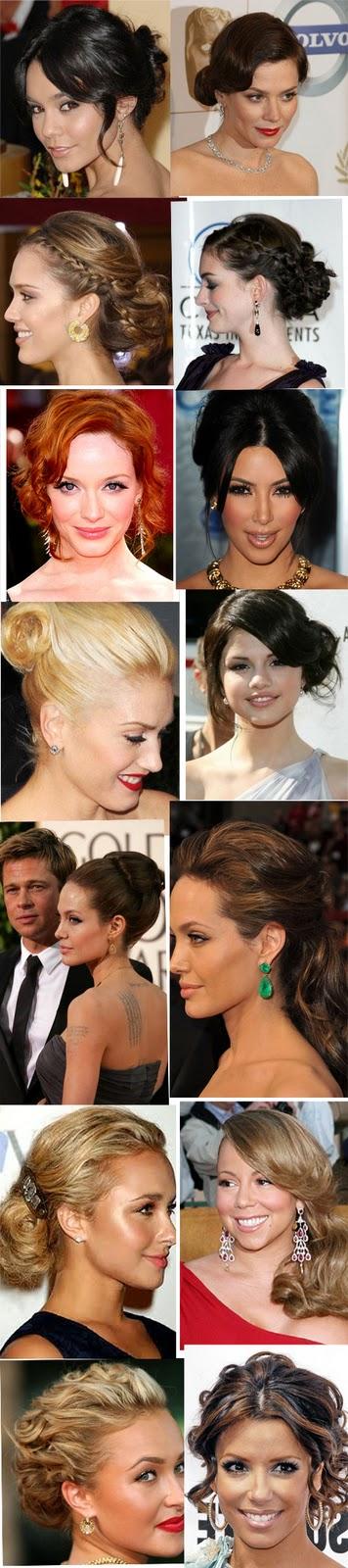 Weddingzilla Wedding 2011 Trending Red Carpet Hairstyles