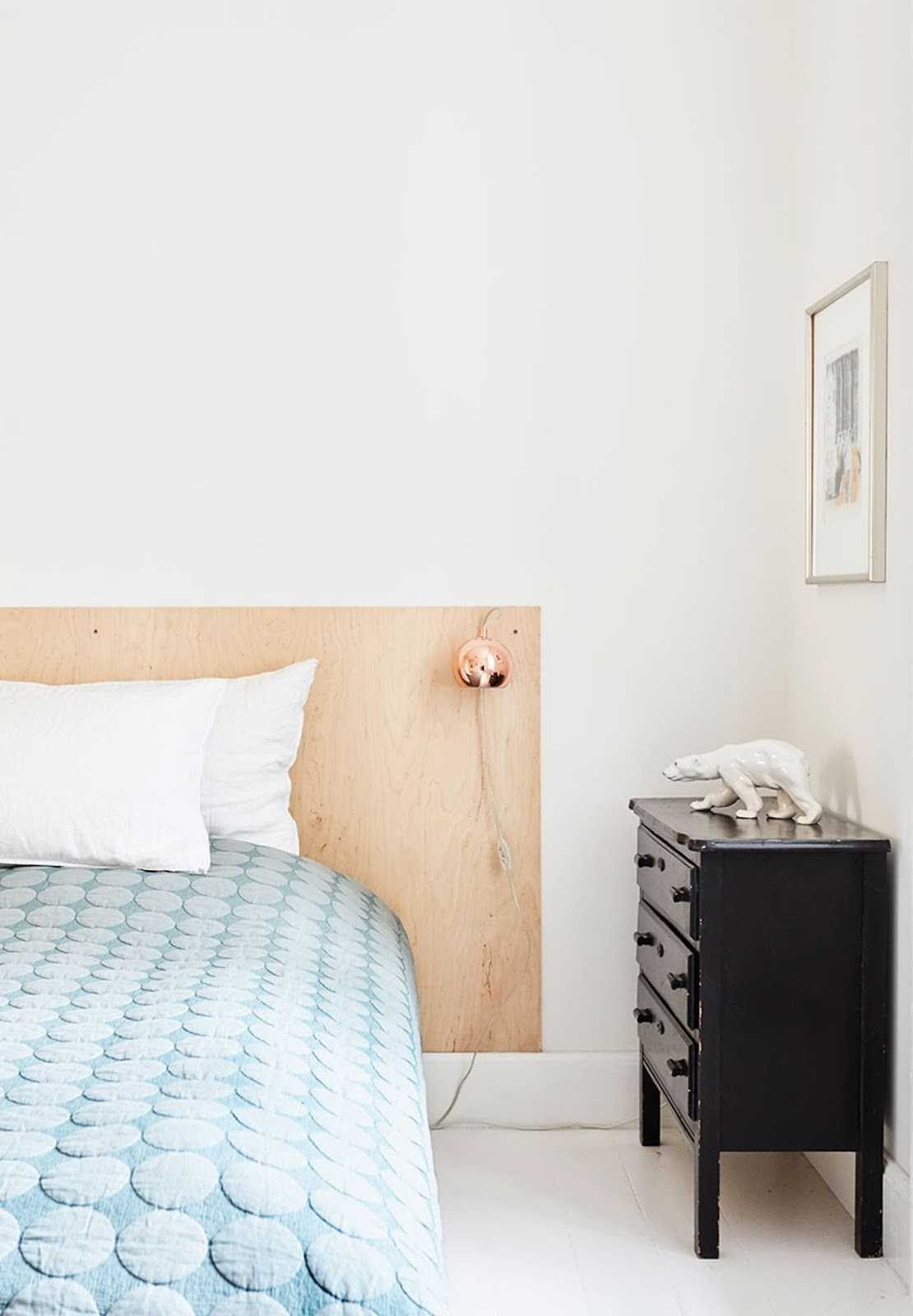 bedroom design, wood bed headboard,