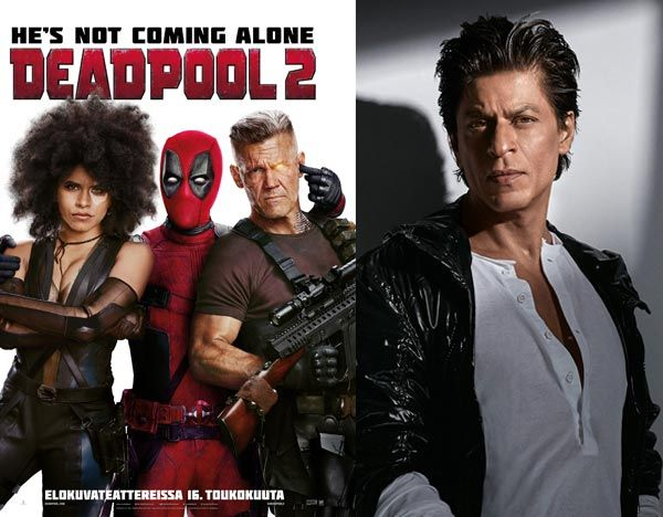 [Spoiler] SRK fans will have a double treat while watching Deadpool 2 – here's why