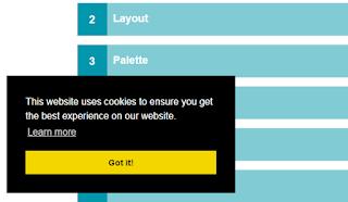 Notifikasi Cookie di Blogger