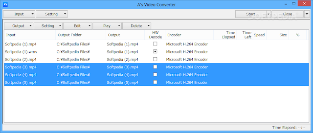 تحميل برنامج تحويل الفيديو مجانا Portable A's Video Converter