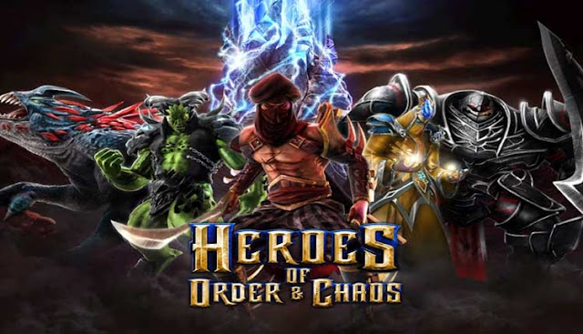 game populer Heroes of Order & Chaos