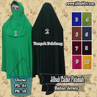 Jilbab Syar'i Cadar Murah Berkualitas Model Terbaru