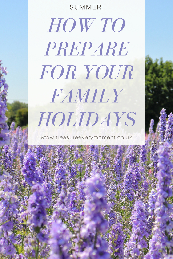 SUMMER: How to Prepare for your Family Holidays