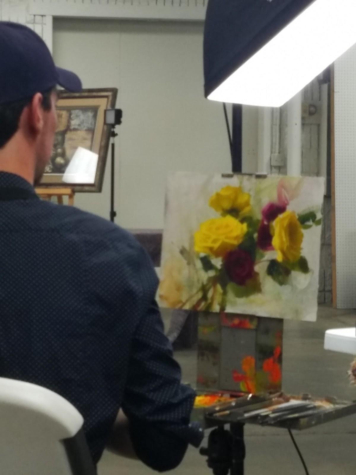 Carla Hefley - Artist in Training: Daniel Keys Workshop ...
