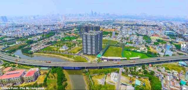 the view về quận 1