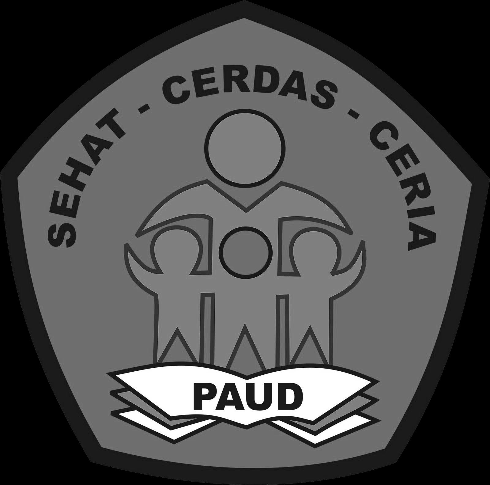 3 Logo Paud Format Png Berwarna Hitam Putih Grafis Media