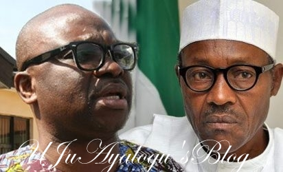 Fayose Celebrates President Buhari's 75th Birthday