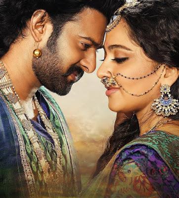 Prabhas with Anushka