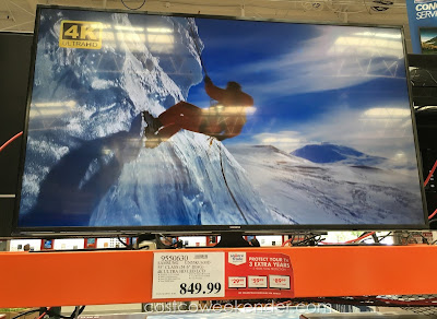 Samsung 55-inch UN55KU630D Ultra HD LED LCD TV - Just when you thought 1080 was enough comes the 4K Ultra, 4x sharper than full HD