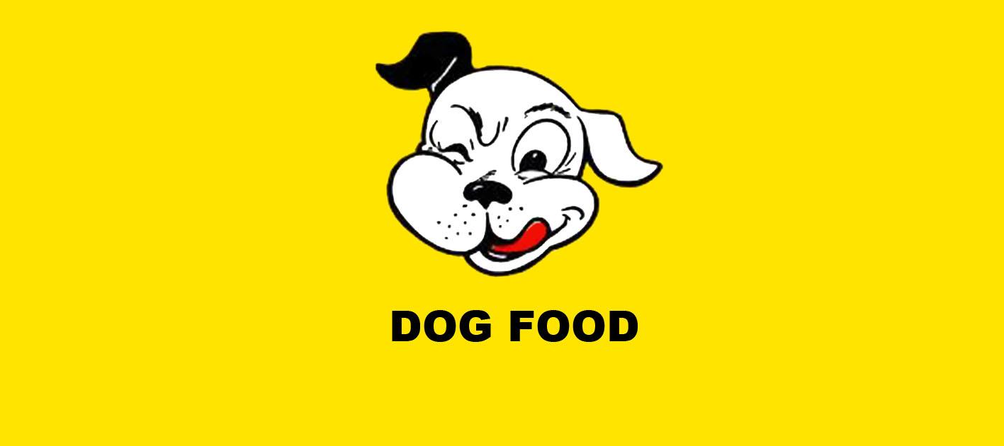 Tayler Osborne A2 Media Dog Food Label Designs