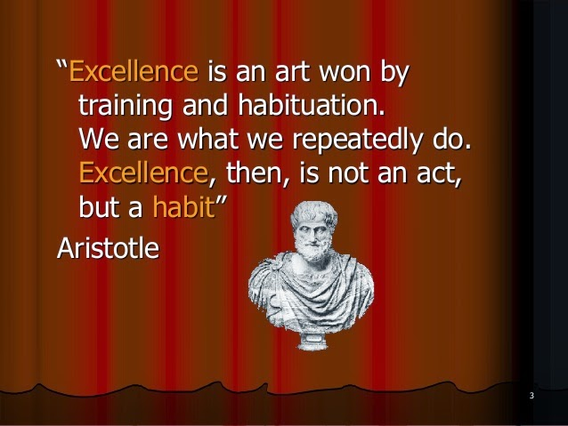 Aristotle Quote About Practice: Farmhouse Traditions: Wedding Reflections