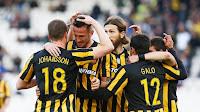 Το βίντεο με την παρακάμερα του αγώνα ΑΕΚ - Κέρκυρα 5-0