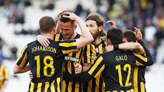 Τα στιγμιότυπα της αναμέτρησης ΑΕΚ - Κέρκυρα 5-0