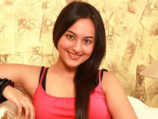 Sonakshi Sinha Desi Hair Style Wallpapers