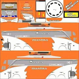 Dowmload Livery Bus Shantika