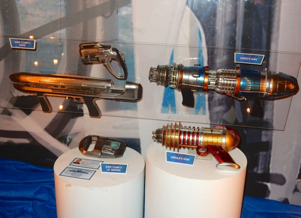 Tomorrowland raygun movie props