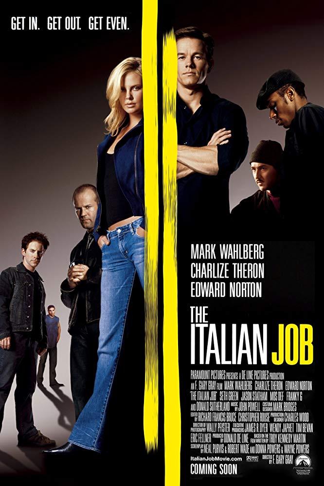 The Italian Job (2003) Dual Audio Hindi 350MB BluRay 480p x264 ESubs