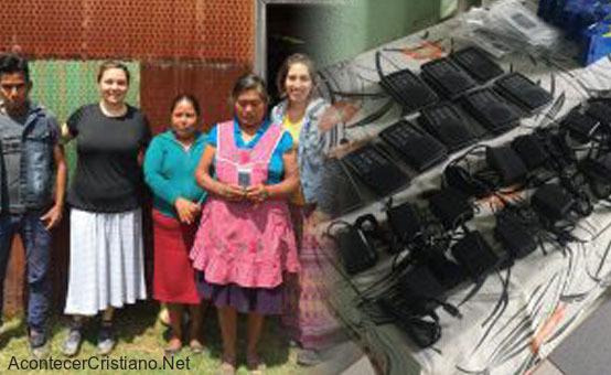 Pueblos lejanos de México reciben Biblias