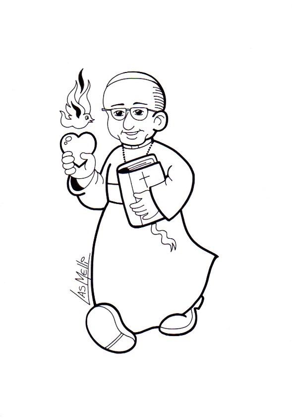 Aprendemos Con El Papa Francisco Nuevos Dibujos Para